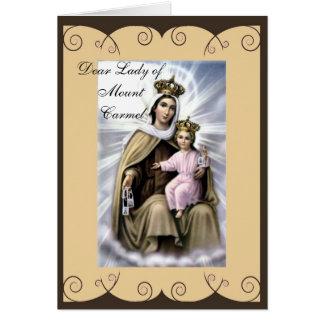 Tarjeta de felicitación religiosa de la condolenci