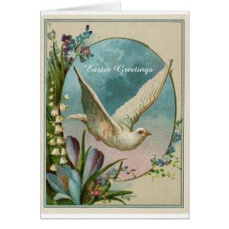 Tarjeta de felicitación religiosa de Pascua del
