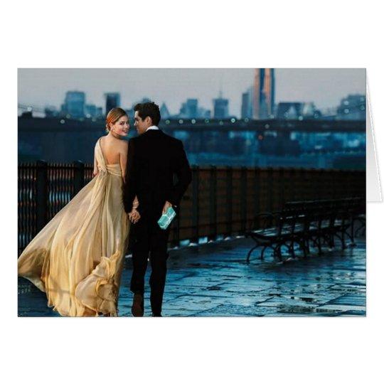 Tarjeta de felicitación romántica de las tarjetas