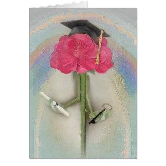 Tarjeta de felicitación subió graduación de