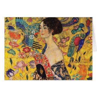 Tarjeta de felicitaciones de Gustavo Klimt