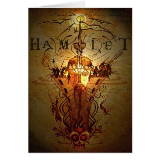 """Tarjeta de felicitaciones de """"Hamlet"""""""