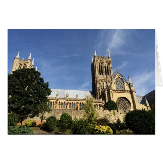 Tarjeta de felicitaciones de la catedral de