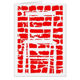 tarjeta de felicitaciones de las ilusiones ópticas