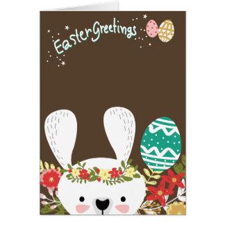 Tarjeta de felicitaciones de Pascua
