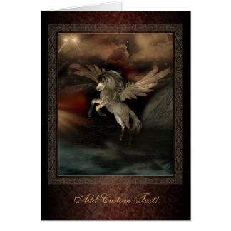 Tarjeta de felicitaciones del arte de la fantasía