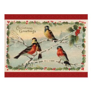 Tarjeta de felicitaciones del navidad