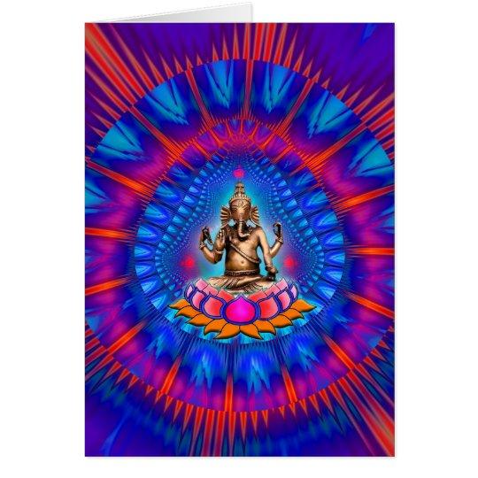 Tarjeta de Ganesh