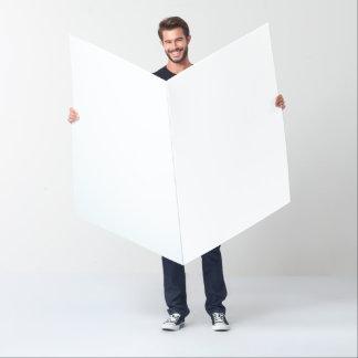 """Tarjeta de gran tamaño (36"""" x 48"""")"""
