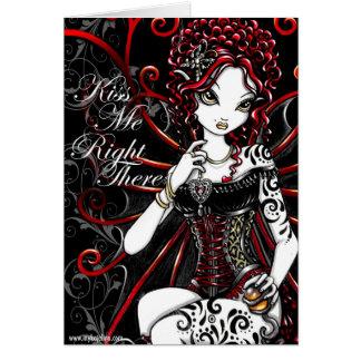 Tarjeta de hadas del día de San Valentín de Sasha