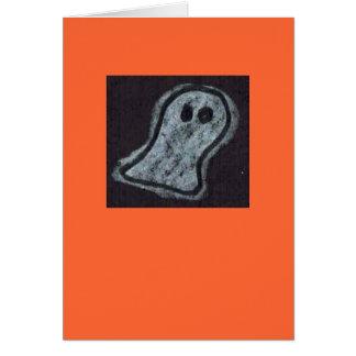 Tarjeta de Halloween del fantasma de Helen