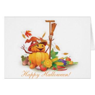 tarjeta de Halloween, personalizado, poema