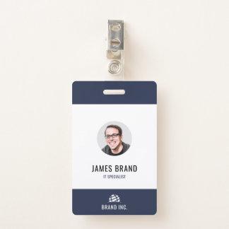 Tarjeta De Identificación Identificación moderna del negocio