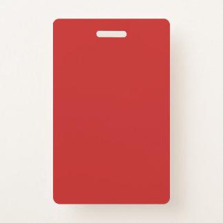 Tarjeta De Identificación La plantilla en blanco de DIY añade su imagen de