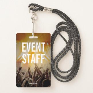 Tarjeta De Identificación Personal del acontecimiento