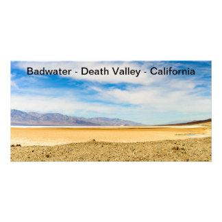 Tarjeta de imagen Badwater Death Valley California