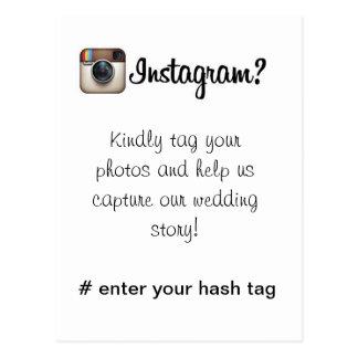 Tarjeta de Instagram Postal