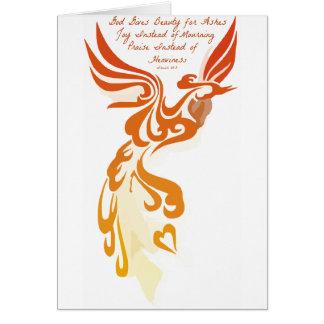 Tarjeta de Isaías 61 Phoenix
