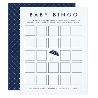 Tarjeta de juego del bingo de la fiesta de invitación 10,8 x 13,9 cm