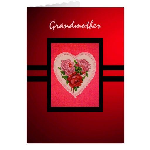 Tarjeta de la abuela