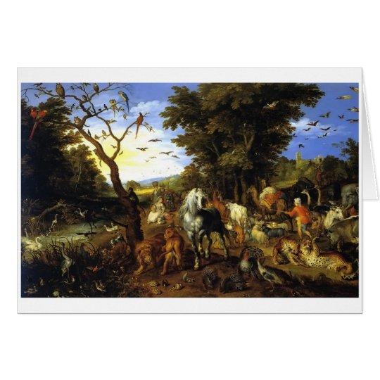 Tarjeta de la arca de Noah