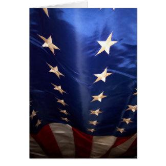 Tarjeta de la bandera
