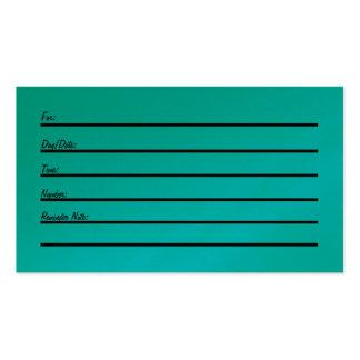 Tarjeta de la cita (en el papel del oro) tarjetas de visita