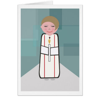 tarjeta de la comunión