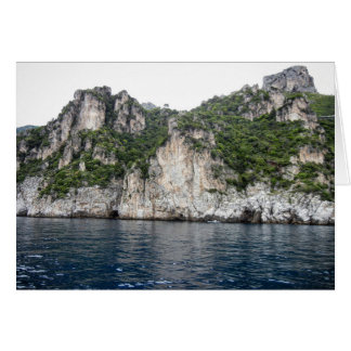 Tarjeta de la costa de Amalfi