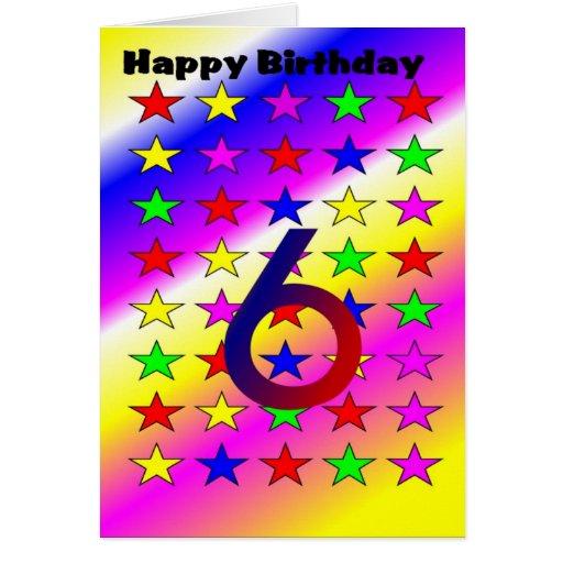 Tarjeta de la edad del cumpleaños