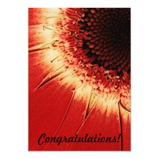 tarjeta de la enhorabuena invitación 12,7 x 17,8 cm