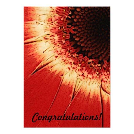 tarjeta de la enhorabuena invitaciones personalizada