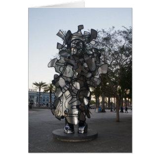 Tarjeta de la escultura #2 de San Francisco