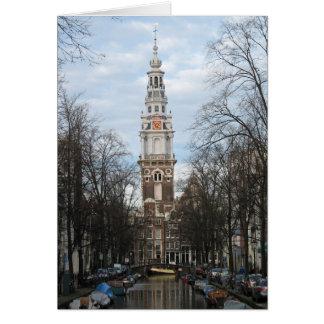 Tarjeta de la foto de Amsterdam Zuiderkerk