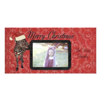 Tarjeta de la foto de las Felices Navidad de la ce Tarjetas Personales
