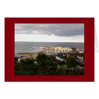 Tarjeta de la foto de Lyme Regis