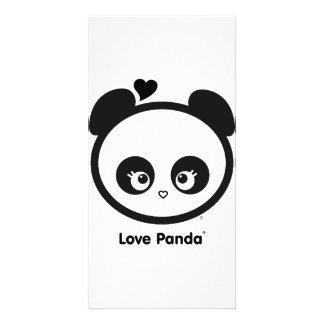Tarjeta de la foto de Panda® del amor Tarjetas Personales Con Fotos
