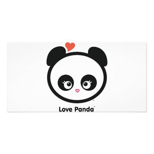 Tarjeta de la foto de Panda® del amor Tarjetas Con Fotos Personalizadas