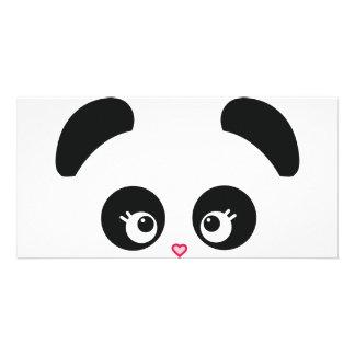Tarjeta de la foto de Panda® del amor Tarjeta Personal