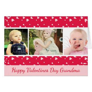 Tarjeta de la foto del día de San Valentín para la