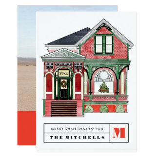 Tarjeta de la foto del ejemplo del hogar del invitación 12,7 x 17,8 cm