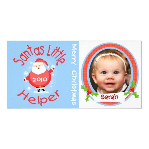 Tarjeta de la foto del navidad de los niños divert tarjetas fotograficas personalizadas