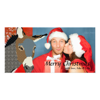 Tarjeta de la foto del navidad de Moses Tarjeta Fotografica