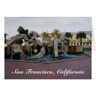 Tarjeta de la fuente #2 de San Francisco