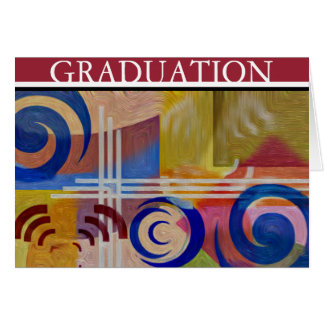 Tarjeta de la graduación