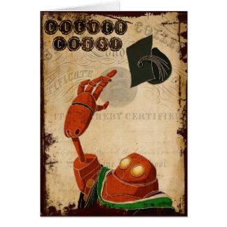 Tarjeta de la graduación de Steampunk