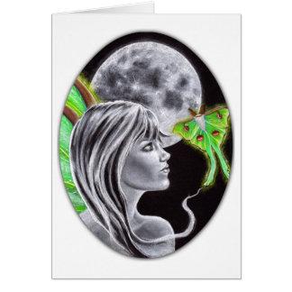 Tarjeta de la hada de Luna