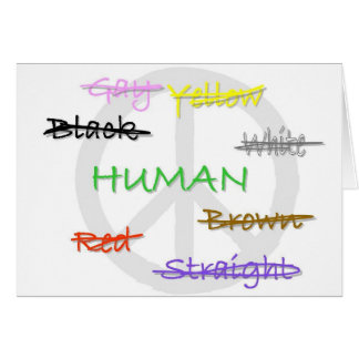 Tarjeta de la humanidad