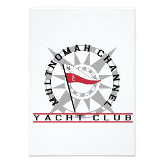 Tarjeta de la invitación de MCYC