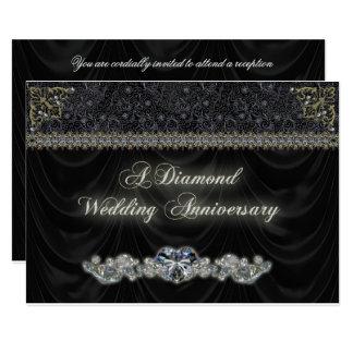Tarjeta de la invitación del aniversario de boda